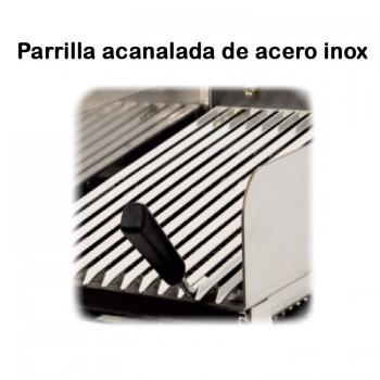 TuHosteleria | Planchas a Gas DUO Acero Laminado 6 mm hosteleria venta on line Barcelona 2 fuegos
