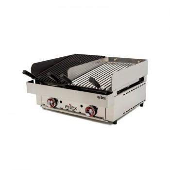 TuHosteleria | Planchas a Gas Acero 15 mm con Baño Cromo Duro hosteleria venta on line Barcelona 1 fuego