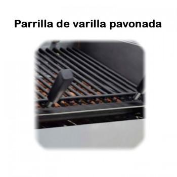 TuHosteleria | Plancha industrial a Gas de Cerámica Placa Lisa hosteleria venta on line Barcelona 400 negro