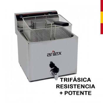 FREIDORA ELÉCTRICA 12L CON GRIFO TRIFÁSICA