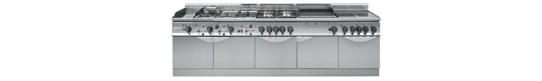 Cocinas modulares a gas profesionales para hostelería