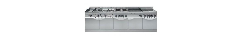 Cocinas modulares eléctricas profesionales para hostelería